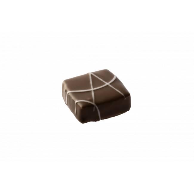 """Ganache au caramel salé et chocolat Lait """"Makila"""""""