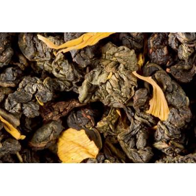 Sachet de thé vert Oolong caramel Dammann