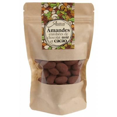 Amandes au chocolat Noir corsé
