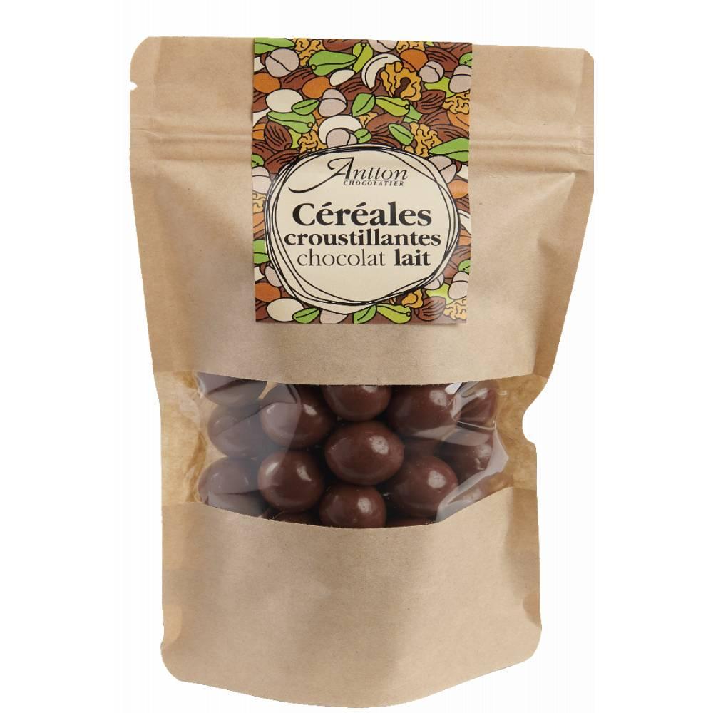 Bille de céréale enrobée de chocolat Lait