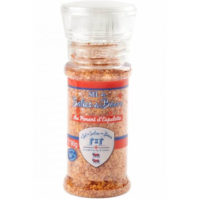 Gros sel de Salies-de-Béarn au piment d'Espelette