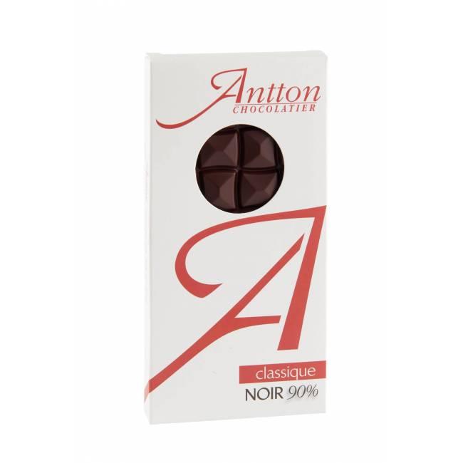 Tablette de chocolat Noir 90%